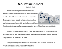 Mount Rushmore | Reading Comprehension Passage