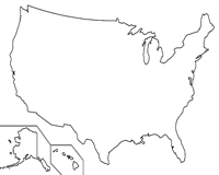 Blank Map of the United States and Printable Worksheets on fill in united states, blank sheet of europe, blank sheet of africa, coloring sheet of blank united states, blank copy of united states, large map of united states, blank us map coloring page, printable blank map of eastern united states, blank sheet of asia, blank sheet of america, blank sheet of us states, blank united states of america,
