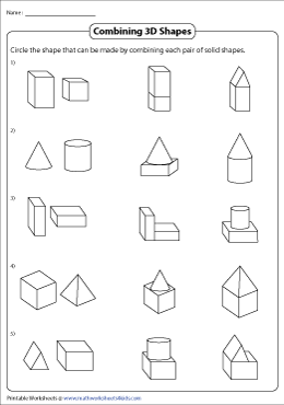 Combining 3D Shapes