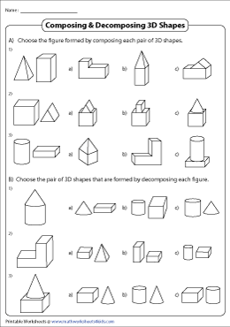 Composing and Decomposing Shapes | MCQ