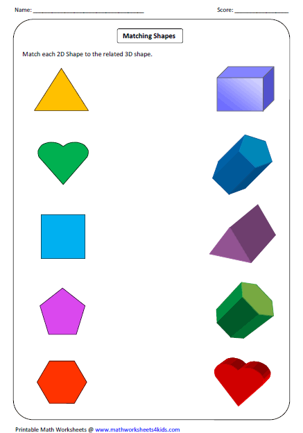 math worksheet : solid 3d shapes worksheets : Maths 2d Shapes Worksheets