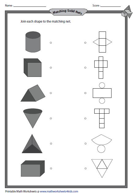 math worksheet : solid 3d shapes worksheets : Math 3d Shapes Worksheet