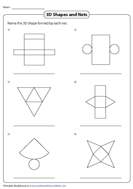 Identifying Nets of 3D Shapes