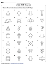 3D Shapes Worksheets & Free Printables | Education.com | 220x160