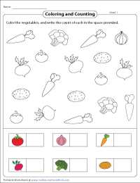 Coloring Objects to Sort Them