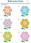 Subtraction Facts: Flower Power Theme