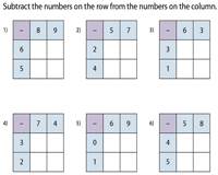 sub-squares 2by2