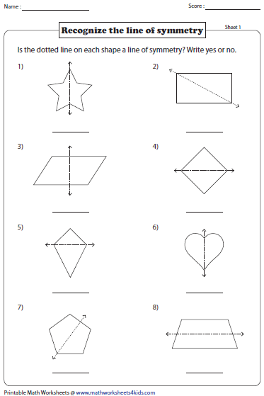 Worksheet Symmetry Worksheets symmetry worksheets