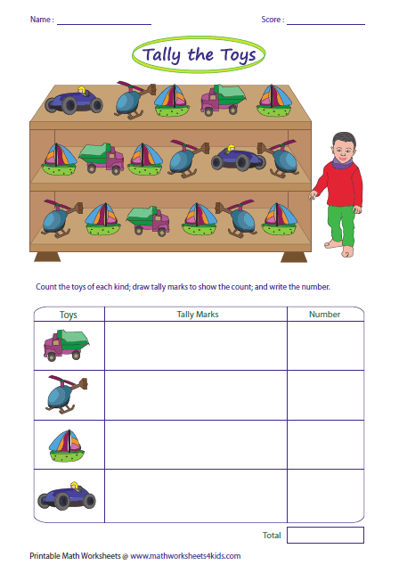 math worksheet : tally marks worksheets : Tally Mark Worksheets For Kindergarten