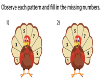 Missing numbers - Pattern