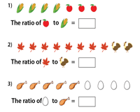 Thanksgiving Day | Ratio Worksheet