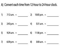 Convert Between 12 Hour And 24