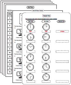 Printables Adding Time Worksheets time worksheets elapsed worksheets