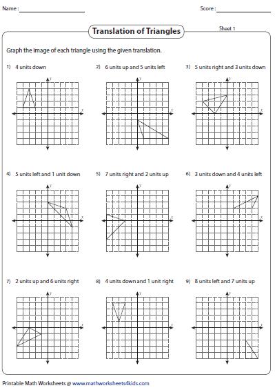 translation worksheets 8th grade math translation worksheetsrotation worksheet maths. Black Bedroom Furniture Sets. Home Design Ideas