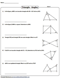 Angles in Composite Triangles