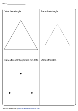 4-in-1 Triangle Activity