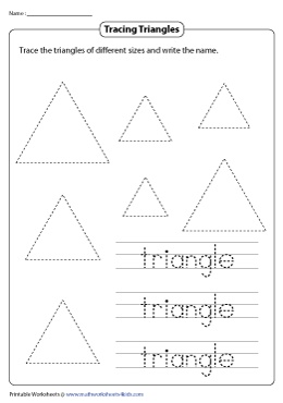 Tracing the Triangle and Its Name