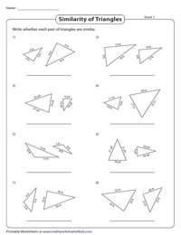 Check for Similar Triangles