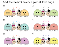 Love bugs | Addition