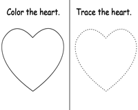 Shape | Heart | 4-in-1 Activity