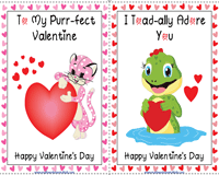 Valentine's Day Cards | 4-in-1