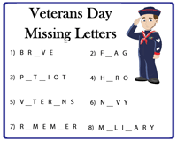 Vocabulary | Missing letters