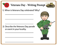 Veterans Day | Writing Prompt