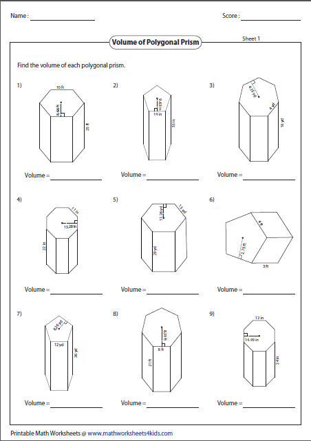 polygonal-prism-large Volume Of Rectangular Prism Worksheet Word Problems on geometry volume worksheets, volume of rectangular box, volume of parallelogram prism, volume of a cube, volume homework worksheets, volume of trapezoidal prism worksheet, triangular prism volume formula worksheets, volume of cone worksheets, volume of right prism, volume of retangular prism, volume rectangular prisms and cubes, volume of cylinder worksheet, volume of a triangle worksheet, volume of cubes worksheet, volume and surface area of rectangular prisms, volume unit cubes worksheets, volume of rectangular solid formula, volume of rectangular prisms two, volume of composite figures worksheet, cubic volume worksheets,