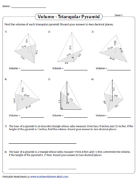 Find the Volume of Triangular Pyramids | Challenging