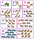 Picture Charts (1-10)