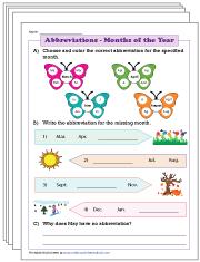 2nd Grade Language Arts Worksheets