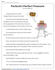 Packrat's Perfect Treasure | Reading Comprehension