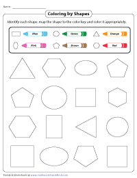 Coloring by Shapes